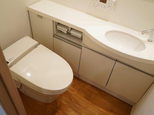 トイレ、室内手洗い付