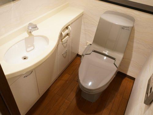 室内手洗い付トイレ