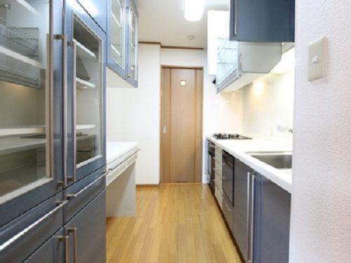 充実収納システムキッチン