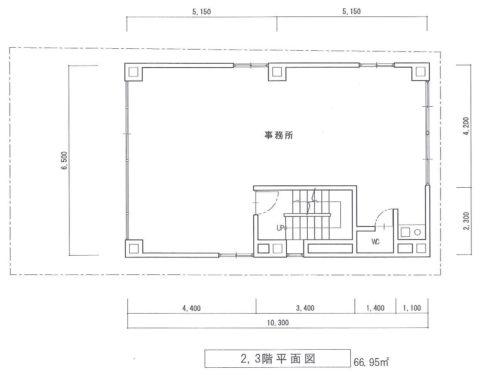 4階図面(間取)