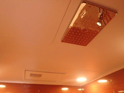 天井シャワー、浴室乾燥機(風呂)